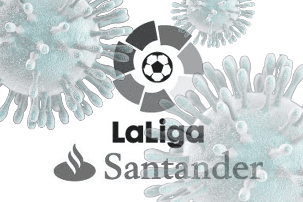 La RFEF ha suspendido indefinidamente La Liga Española de Fútbol debido a la crisis por la pandemia del covid-19