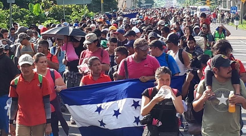 Para el próximo 10 de marzo estaría hecha la convocatoria la cual partiría de la Gran Central Metropolitana de San Pedro Sula, con rumbo en buscar el sueño americano.