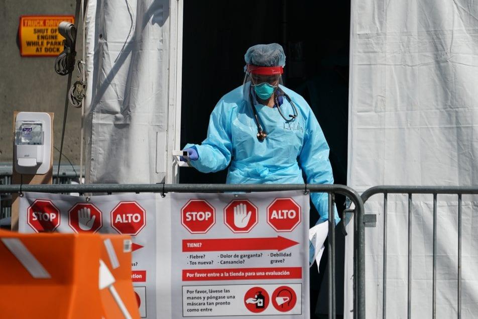 En estos momentos, Nueva York es el epicentro de la crisis del coronavirus en Estados Unidos.