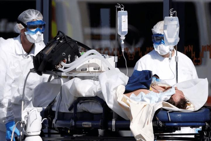 Francia es el tercer país europeo más golpeado por el coronavirus, después de Italia y España