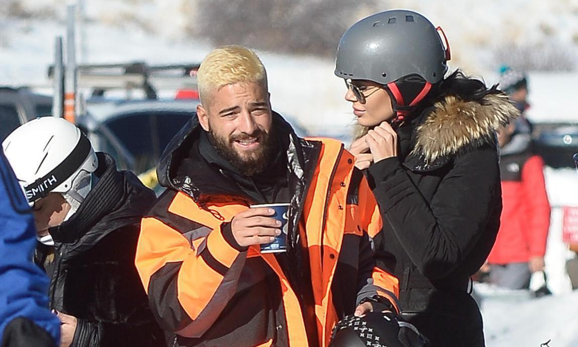 El cantante colombiano y la modelo de origen ruso, estarían saliendo desde el mes pasado de enero.