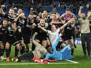 El Ajax quiso trolear al Real Madrid, pero no salió muy bien