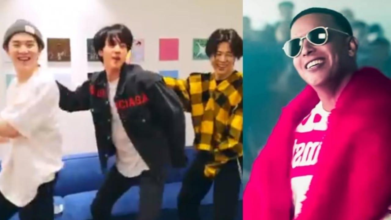 La famosa banda surcoreana de pop, BTS,  han arrasado en redes sociales al aprender los pasos del reguetonero.