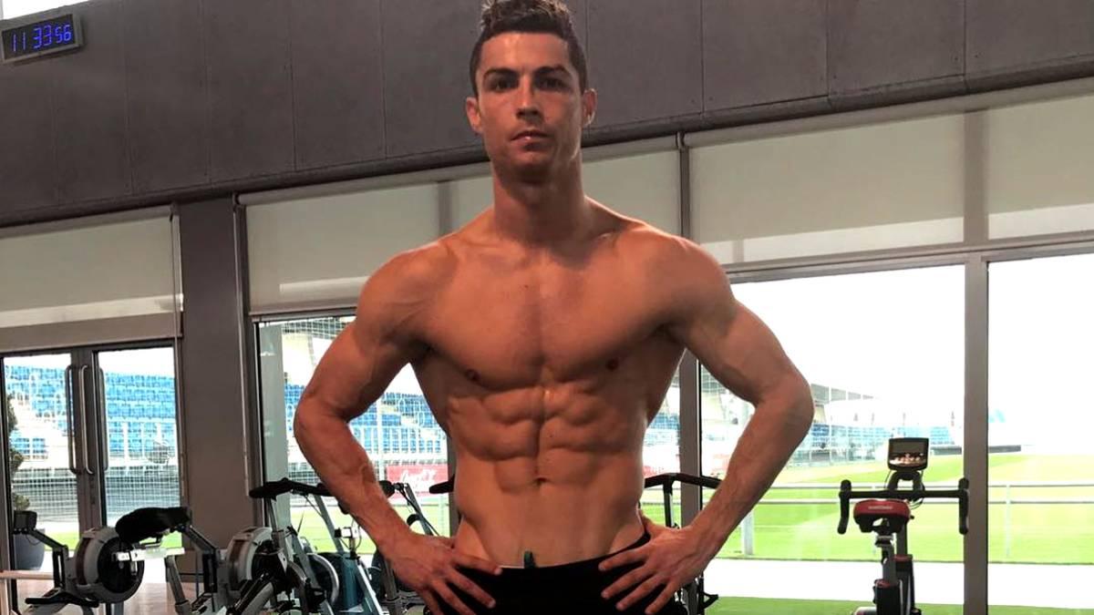 La estrella portuguesa no descansa en cuarentena y continúa poniéndose en forma a través de extremas rutinas de ejercicios.