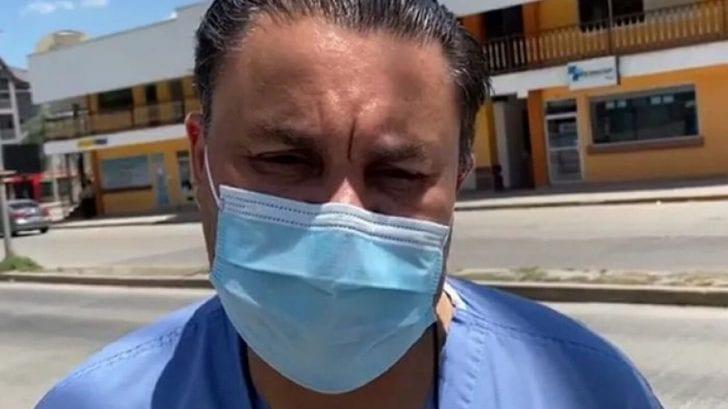 Cadena internacional destaca lucha del doctor Umaña contra el coronavirus