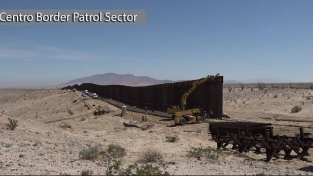 Según datos de la página web estadounidense, el muro está avanzando en más de un 37 por ciento.
