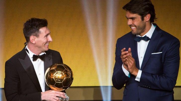 Kaká por fin se decide... ¿Messi o Cristiano Ronaldo?
