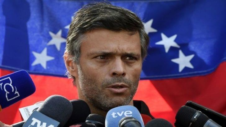 """Opositor Leopoldo López acusa a Nicolás Maduro de convertir el coronavirus en """"escudo humano"""""""