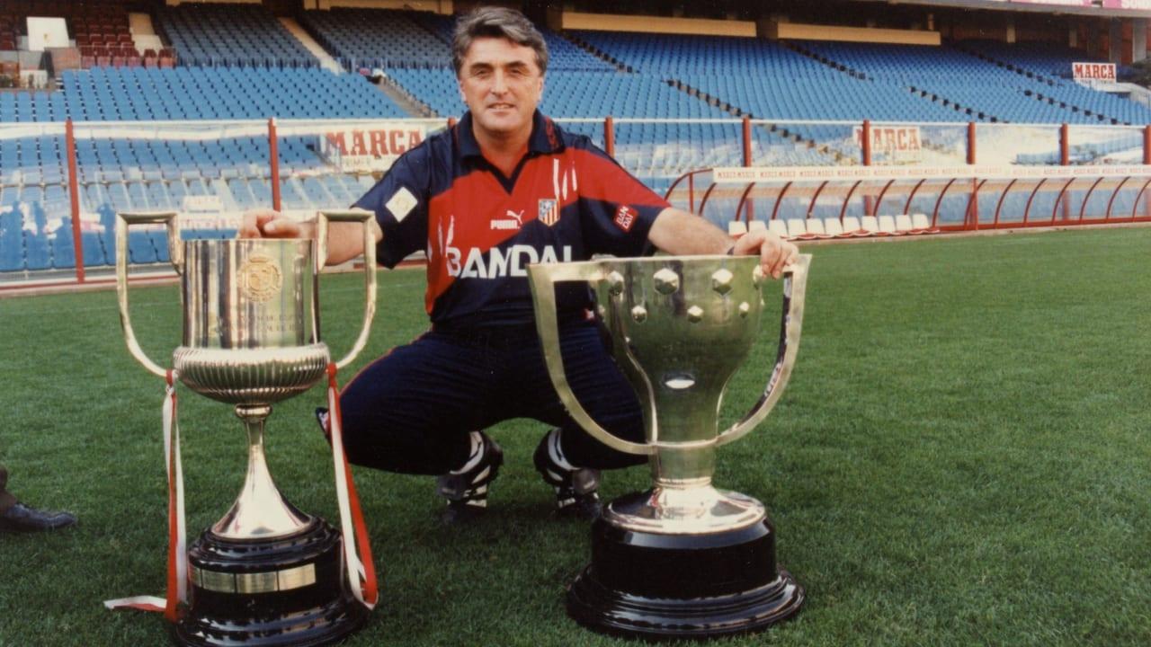 Antic siempre será recordado por haber hecho historia en el Atlético de Madrid, fue el responsable del mítico doblete colchonero en la temporada 1995-1996.