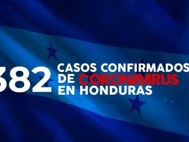 Coronavirus: Honduras confirma 39 nuevos casos de covid-19, cifra total suma 382 contagios