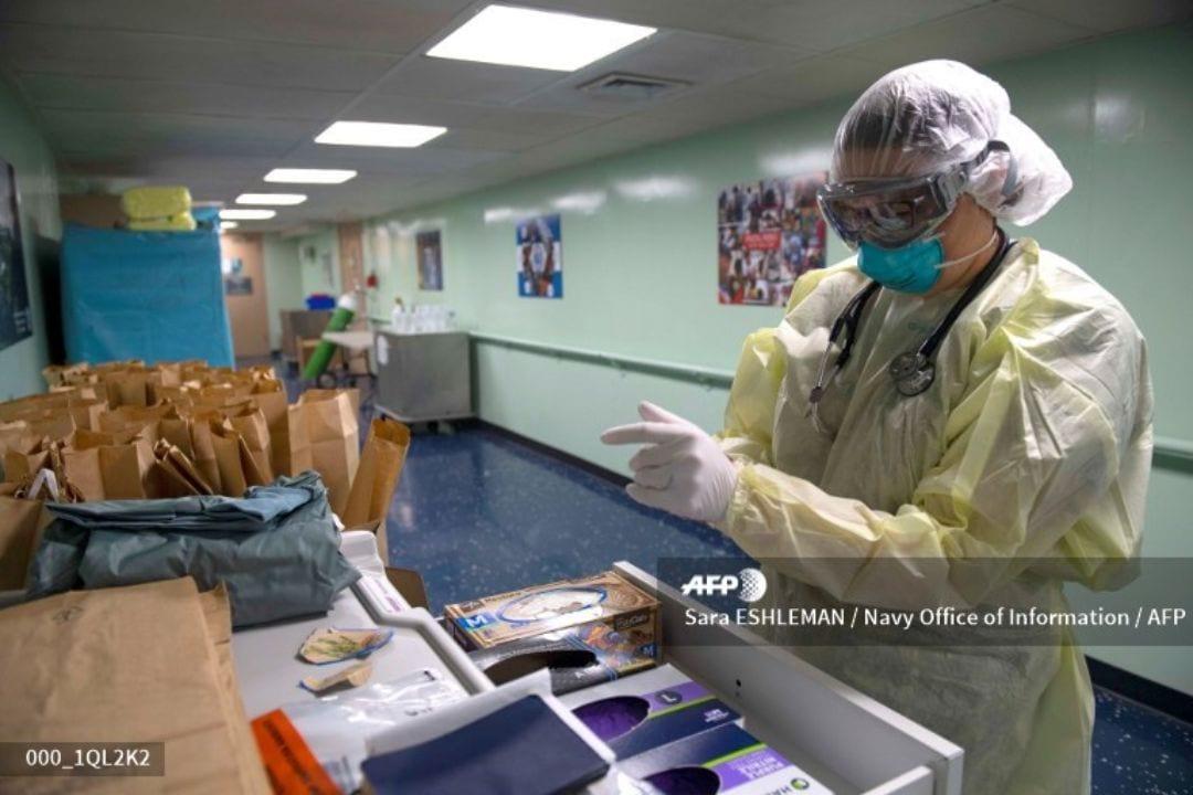 Nueva York es uno de los estados más afectados del país del norte, el martes registró 778 muertes por coronavirus en 24 horas.