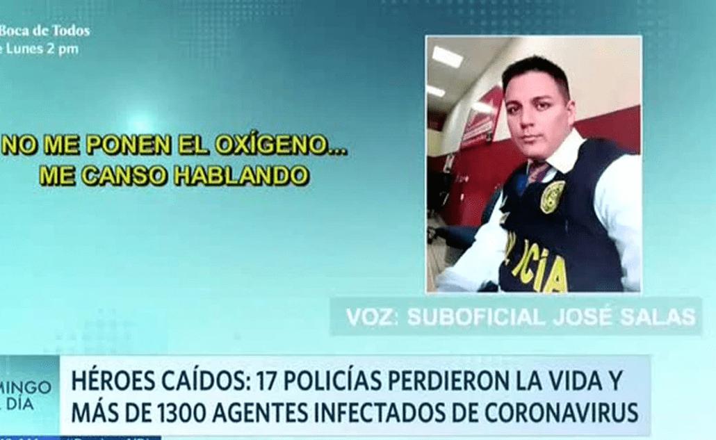 """""""Nadie me atiende, tengo problemas para respirar. No me ponen el oxígeno"""", dijo uno de los policías mientras agonizaba."""