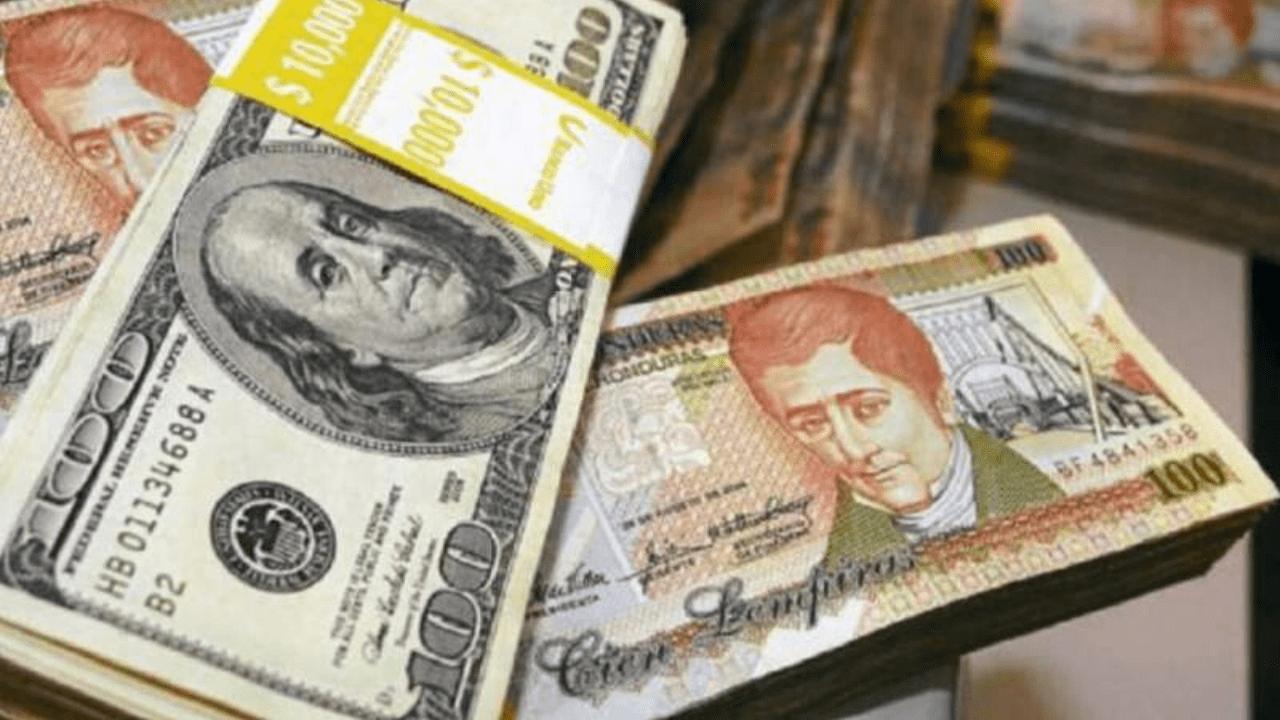 Para el 11 de mayo (10:21pm) la tasa de cambio es de 24 lempiras con 25.00