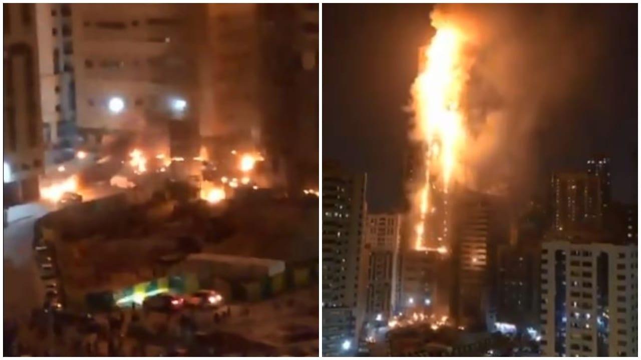 El incendio se registró en un edificio residencial llamado Abbco Tower.