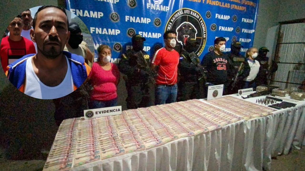 """El detenido, en posesión de más de 200 mil lempiras, habría participado de manera directa en la liberación de """"El Porkis""""."""