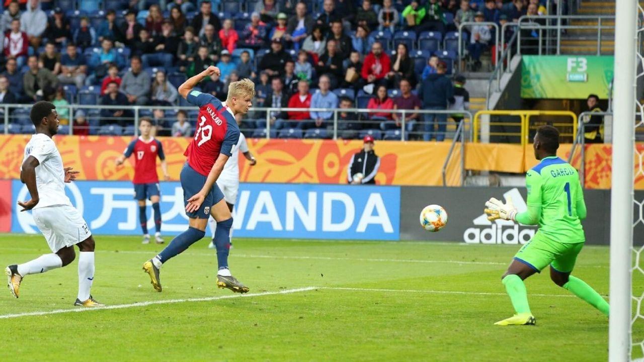 Cuatro goles en el primer tiempo y cinco en el segundo permitieron que el noruego le metiera nueva goles a Honduras.