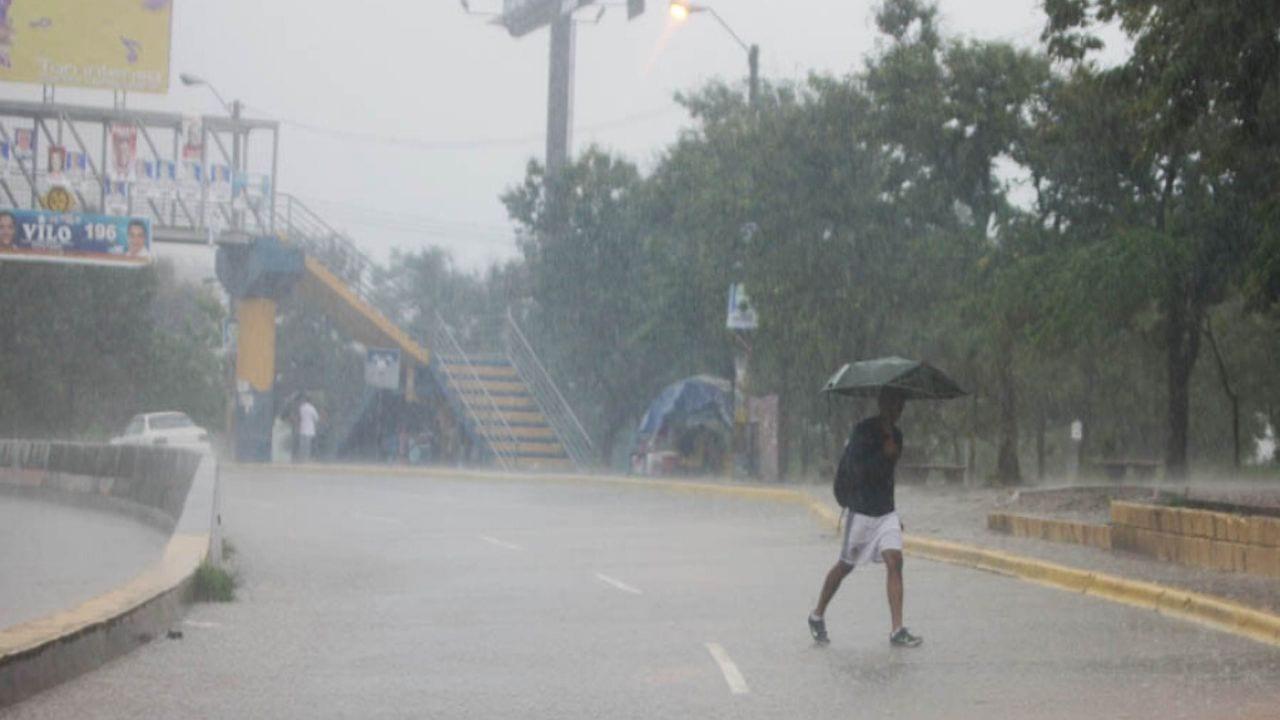 Las lluvias están pronosticadas a partir de las 6:00 de la tarde del sábado 30 de mayo.