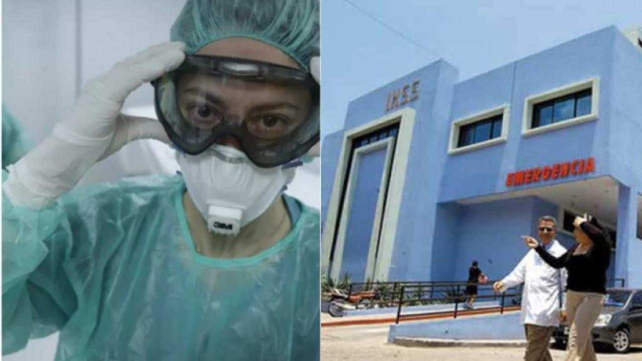 La enfermera auxiliar, Aileen Amador, afirmó que tras dos días de reincorporarse en sus labores fue notificada que no se le renovaría el contrato laboral.