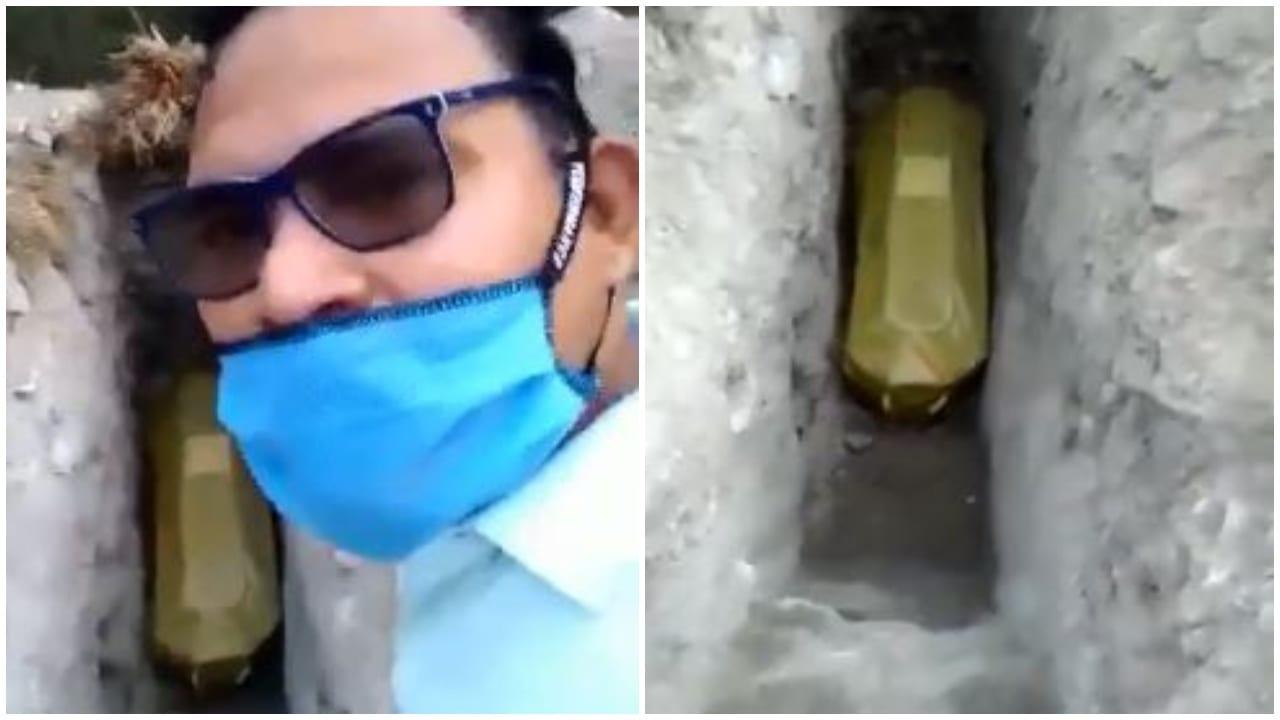 De acuerdo con la información, la mujer habría muerto supuestamente por covid-19, sin embargo, aún no se confirma.