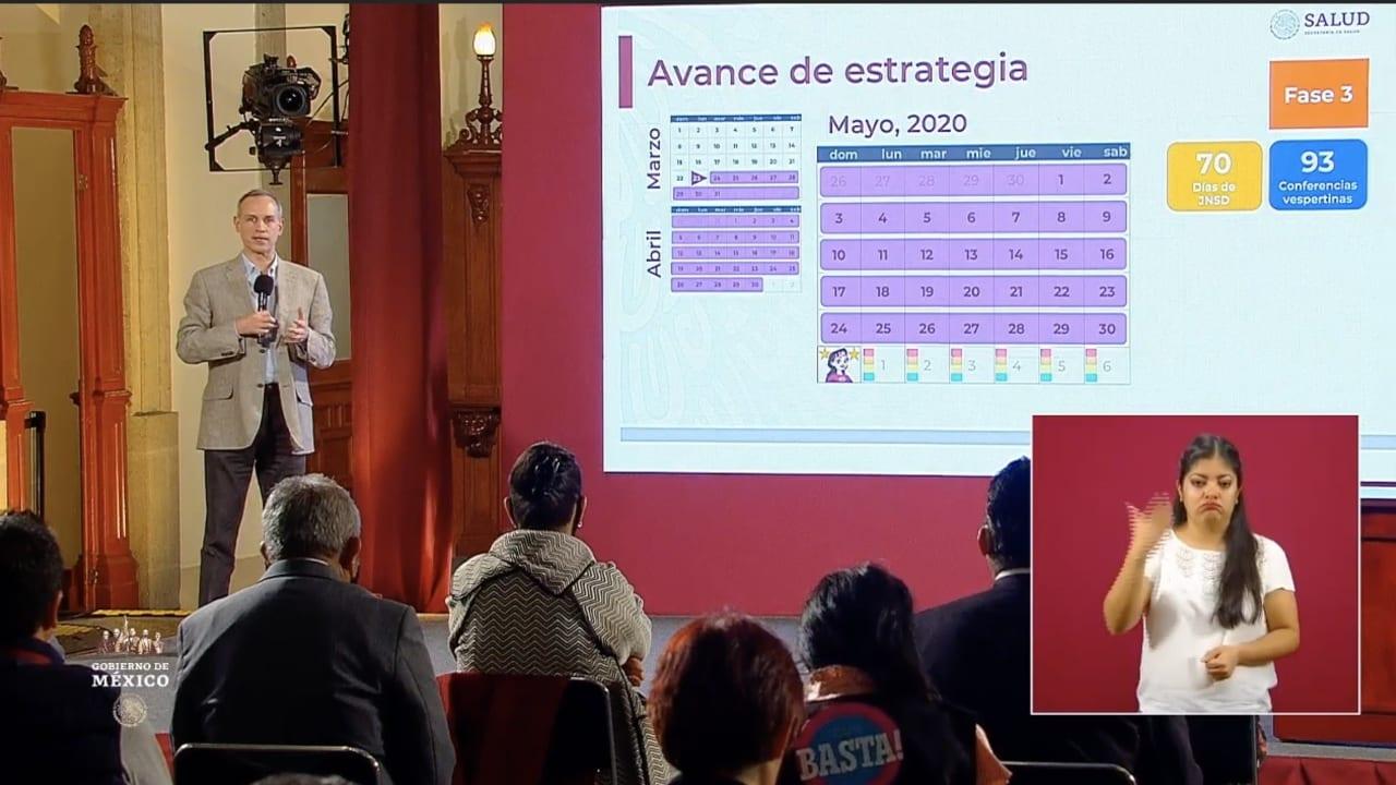 México superó el domingo los 90 mil casos positivos de covid-19 y acumula 9 mil 930 muertes