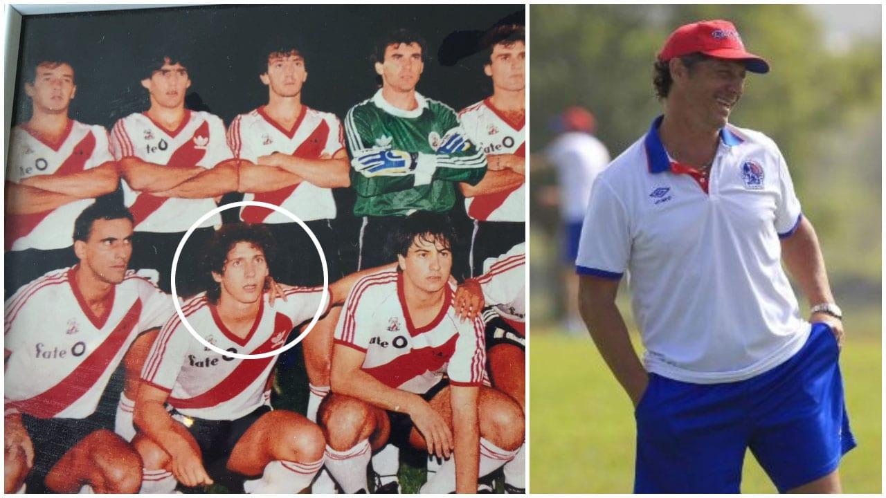 El actual entrenador del cuadro Albo compartió una serie de fotografías tras su paso por el cuadro Millonario.