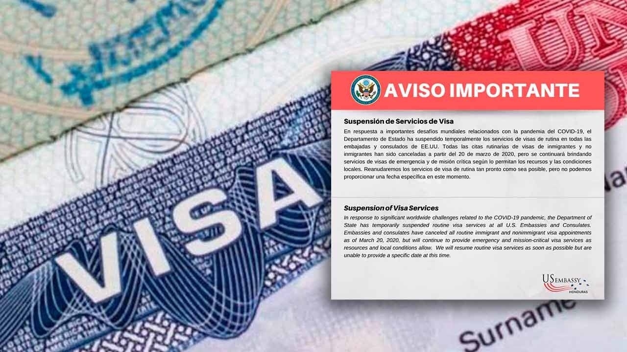 La decisión fue tomada por el Departamento de Estado del país norteamericano en todas sus embajadas y consulados