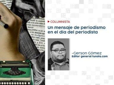 Un mensaje de periodismo en el día del periodista