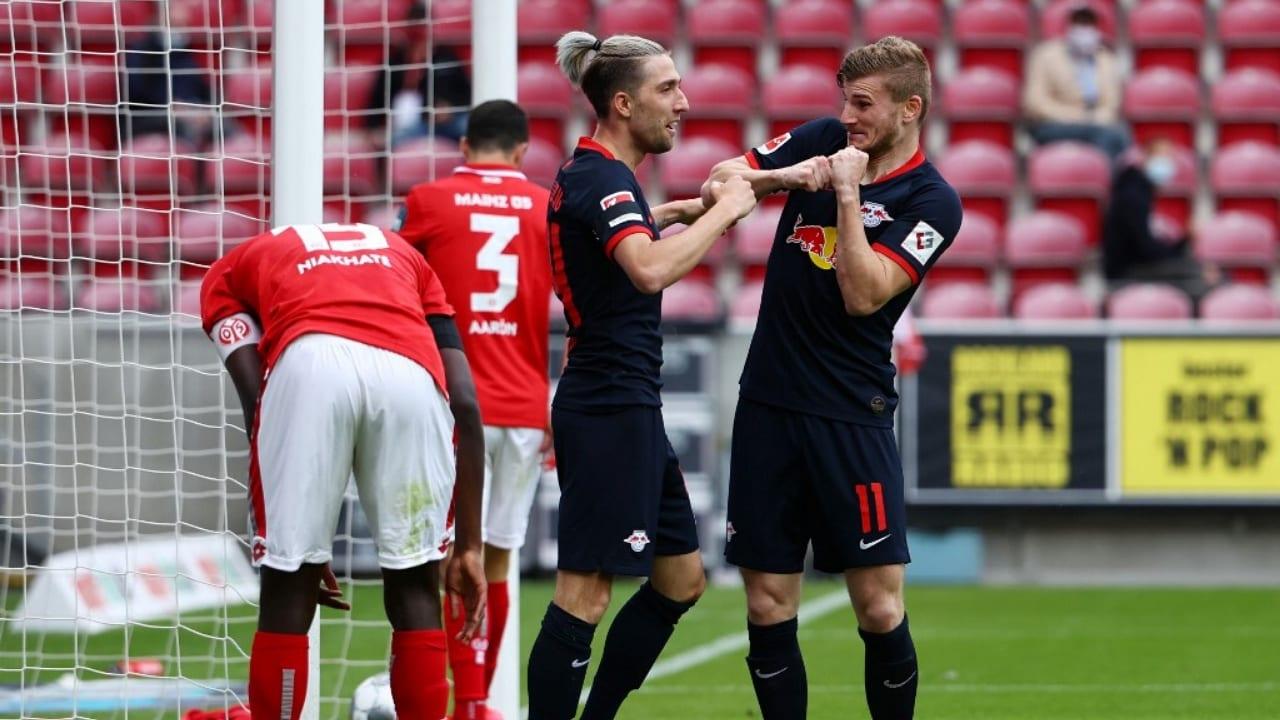 Con estos tres puntos, el RB Leipzig vuelve al tercer puesto, en el cual estaba a mediados de marzo