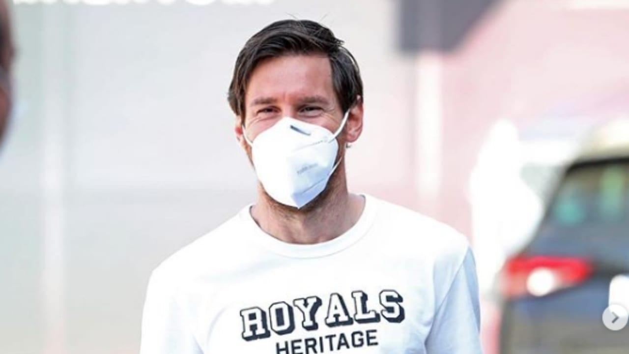 El delantero azulgrana donó medio millón de euros a los hospitales de Argentina que luchan contra el covid-19