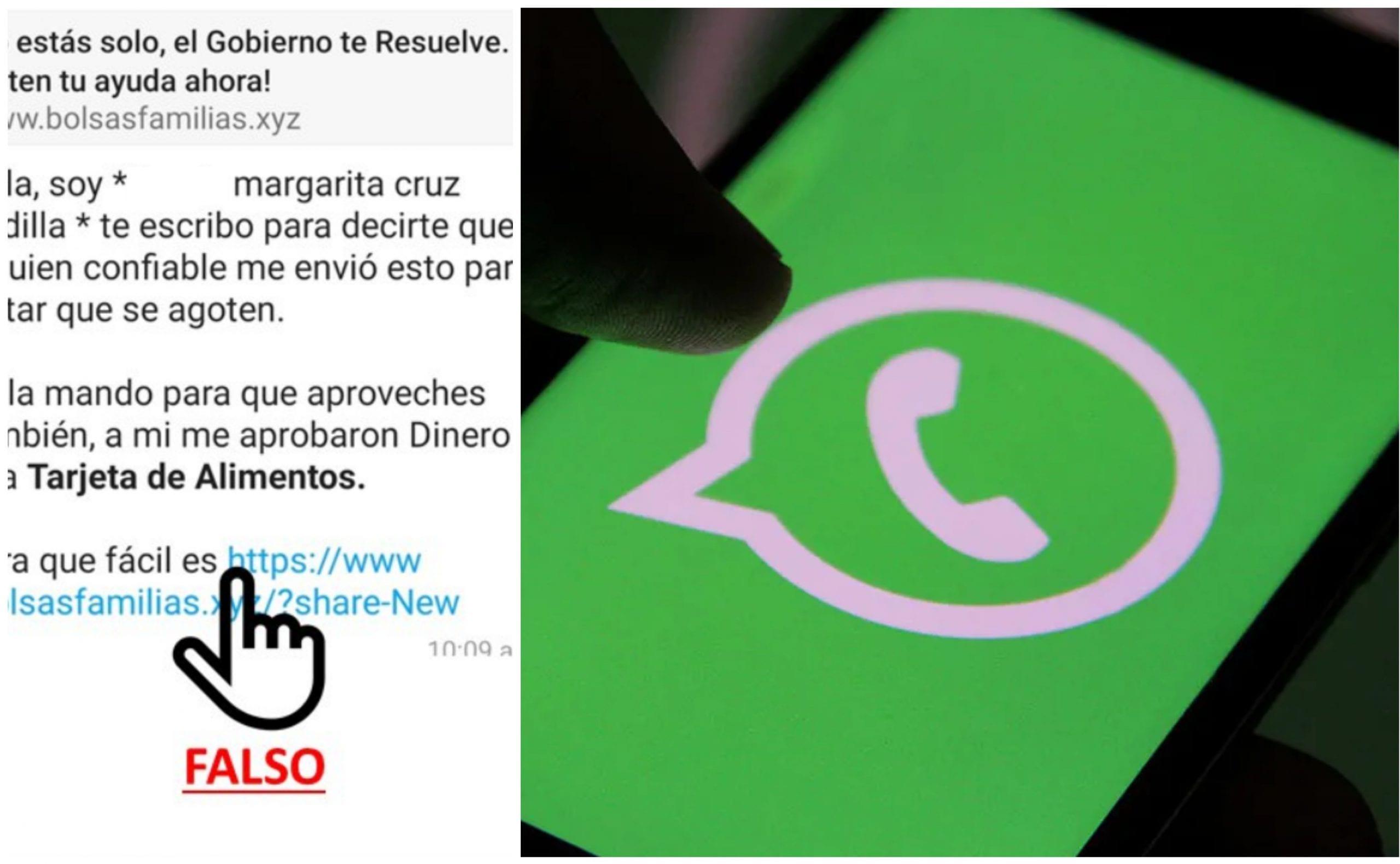 Autoridades hondureñas alertan a la población para que no abran este tipo de mensajes, pues al hacerlo exponen a todos sus contactos.