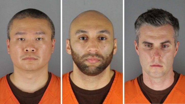 Arrestan a todos los agentes implicados en la muerte de George Floyd