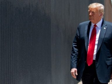 Trump asegura que el muro impidió un mayor brote de covid-19 en los Estados Unidos