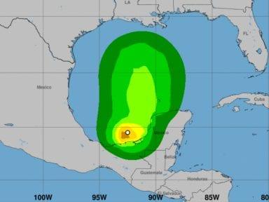 Depresión tropical 3 se convierte en tormenta Cristóbal y amenaza a México y Centroamérica