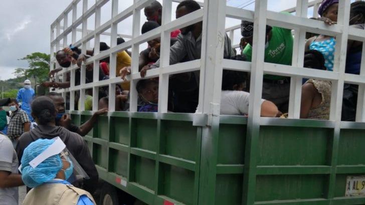 """Honduras y Guatemala preocupados por movilización de migrantes que viajan """"con falsas expectativas"""""""