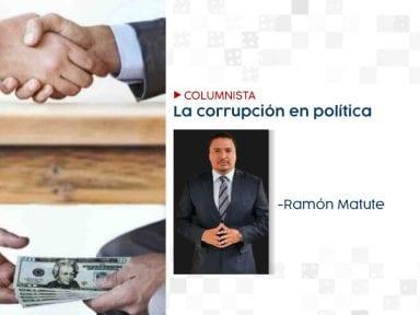 La corrupción en política