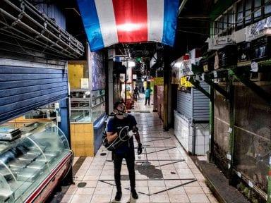 Costa Rica se encamina a los peores escenarios tras dispararse casos de coronavirus