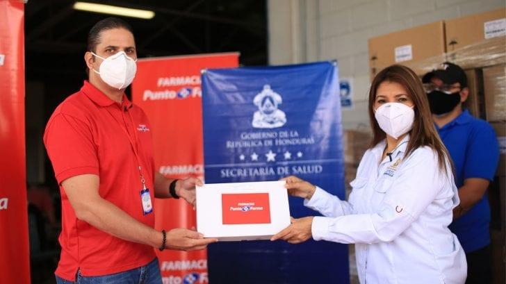 13 mil pacientes en Honduras reciben donativo de medicamentos gracias a Punto Farma