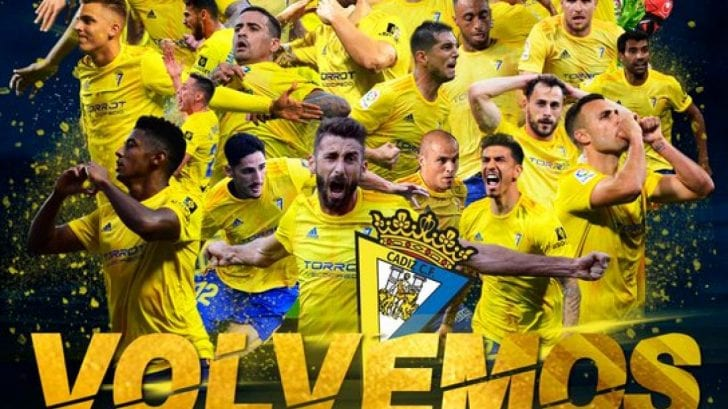 El ascenso del Cádiz: ¿Cuántas temporadas ha disputado en Primera División?