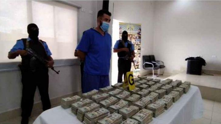 Policía de Nicaragua captura a hondureño ligado al narco con más de 11 millones de lempiras