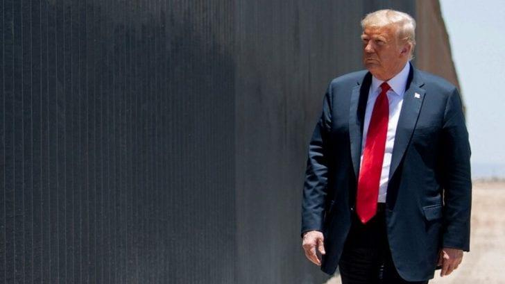 Trump asegura que a finales de 2020 estarán construidos unos 700 kilómetros del muro en frontera con México