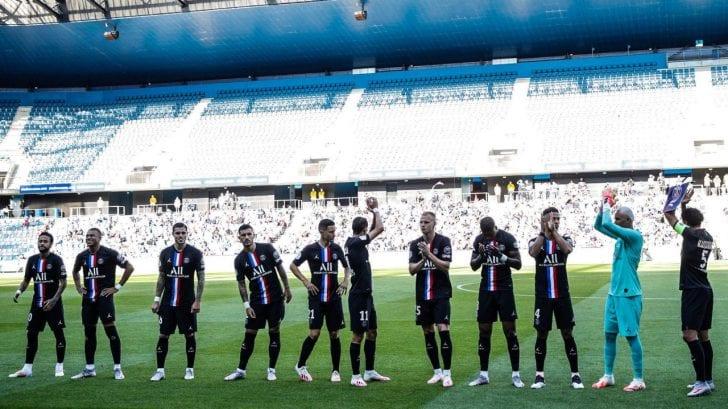 PSG vs Le Havre: el primer partido en Europa con aficionados