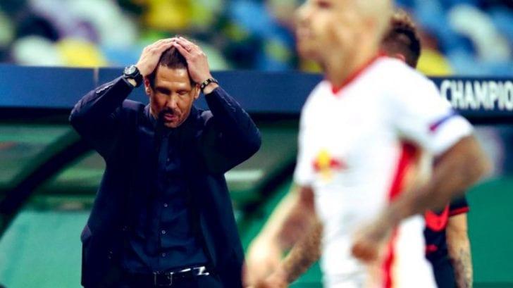 El Cholo Simeone explica el fracaso tras quedar eliminados en Champions League