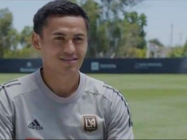 Los Angeles FC destaca la historia de Andy Najar como legionario hondureño
