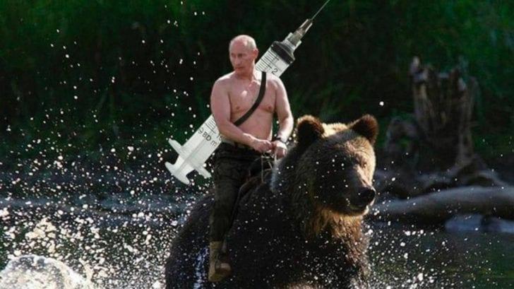 Los memes más divertidos que desató la vacuna rusa contra el covid ¡Cuidado con los efectos secundarios!
