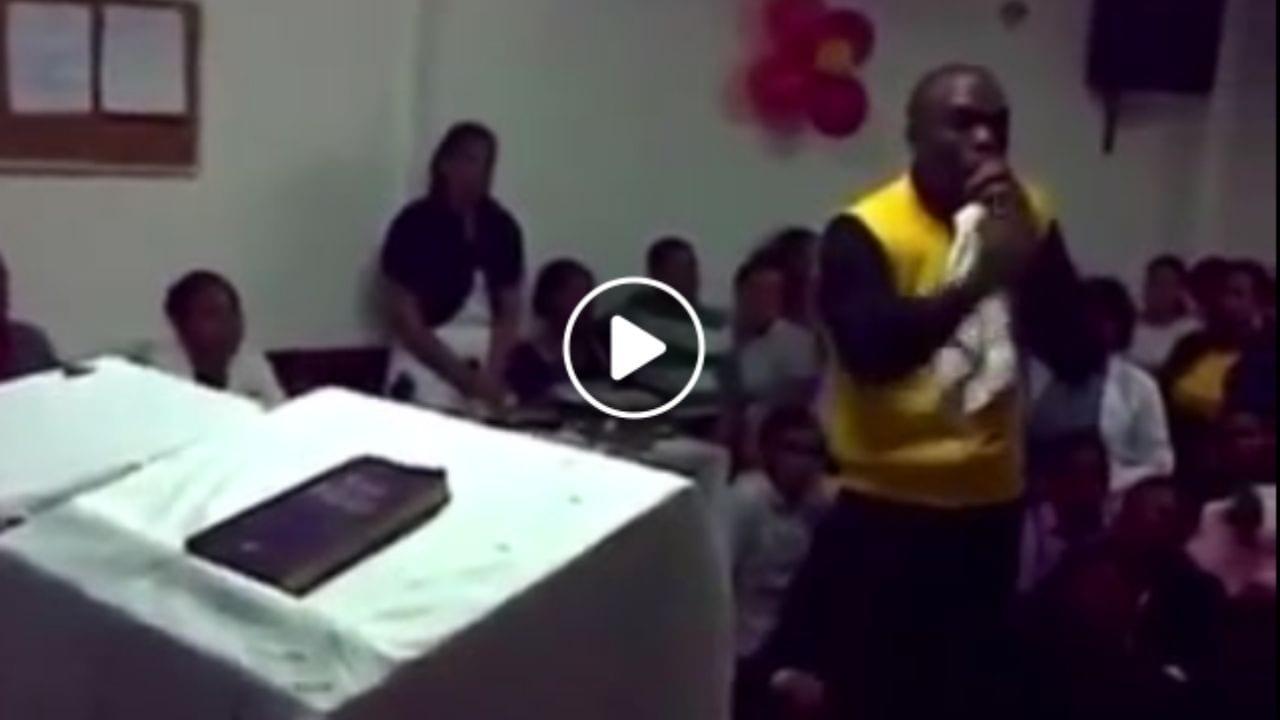 El mensaje del pastor ya inunda las redes sociales y ha causado revuelo. ¡Mira aquí el vídeo!