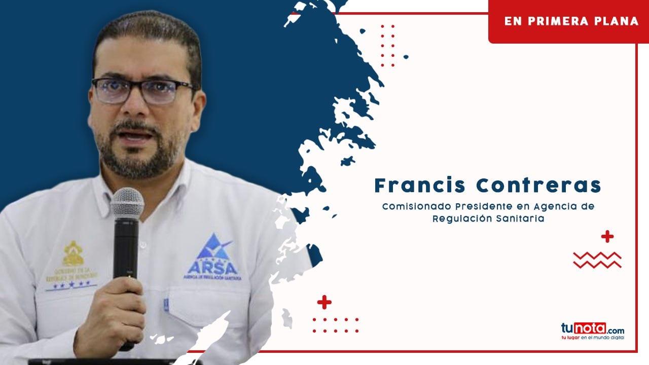 De la noche a la mañana, Francis Contreras se volvió uno de los rostros más mediáticos del país. Te contamos cómo es que terminó dando la cadena. Qué hace en la Arsa, qué piensa del manejo de la crisis por pandemia en Honduras y si tiene aspiraciones políticas. Hoy EN PRIMERA PLANA, el hombre al que más stickers de WhatsApp le crearon este año