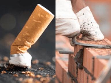 Reciclar colillas de cigarrillo para elaborar ladrillos, un estudio científico revela prometedores resultados con esta nueva propuesta