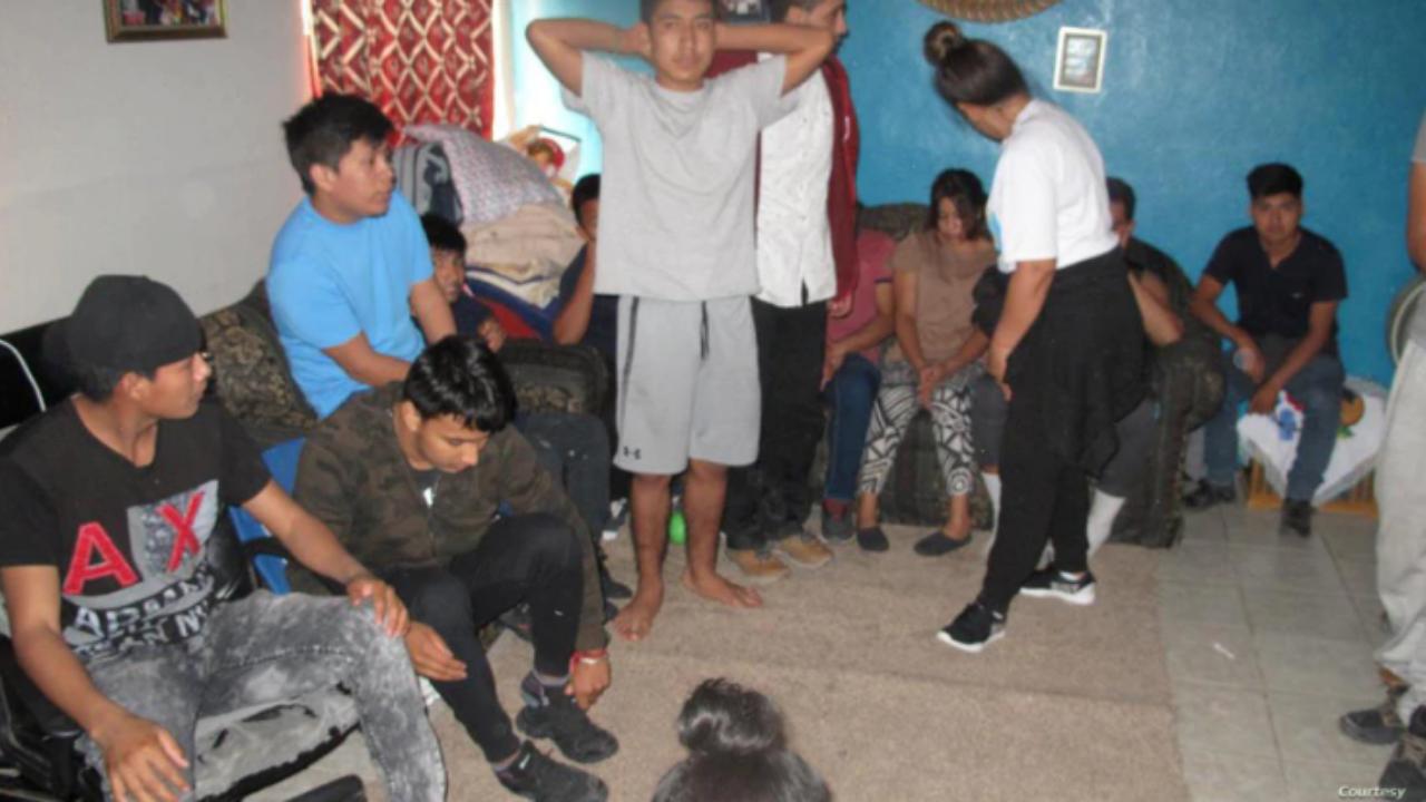 Una pareja estadounidense ocultaba a los inmigrantes, además, entre ellos había ciudadanos hondureños, guatemaltecos y cubanos.