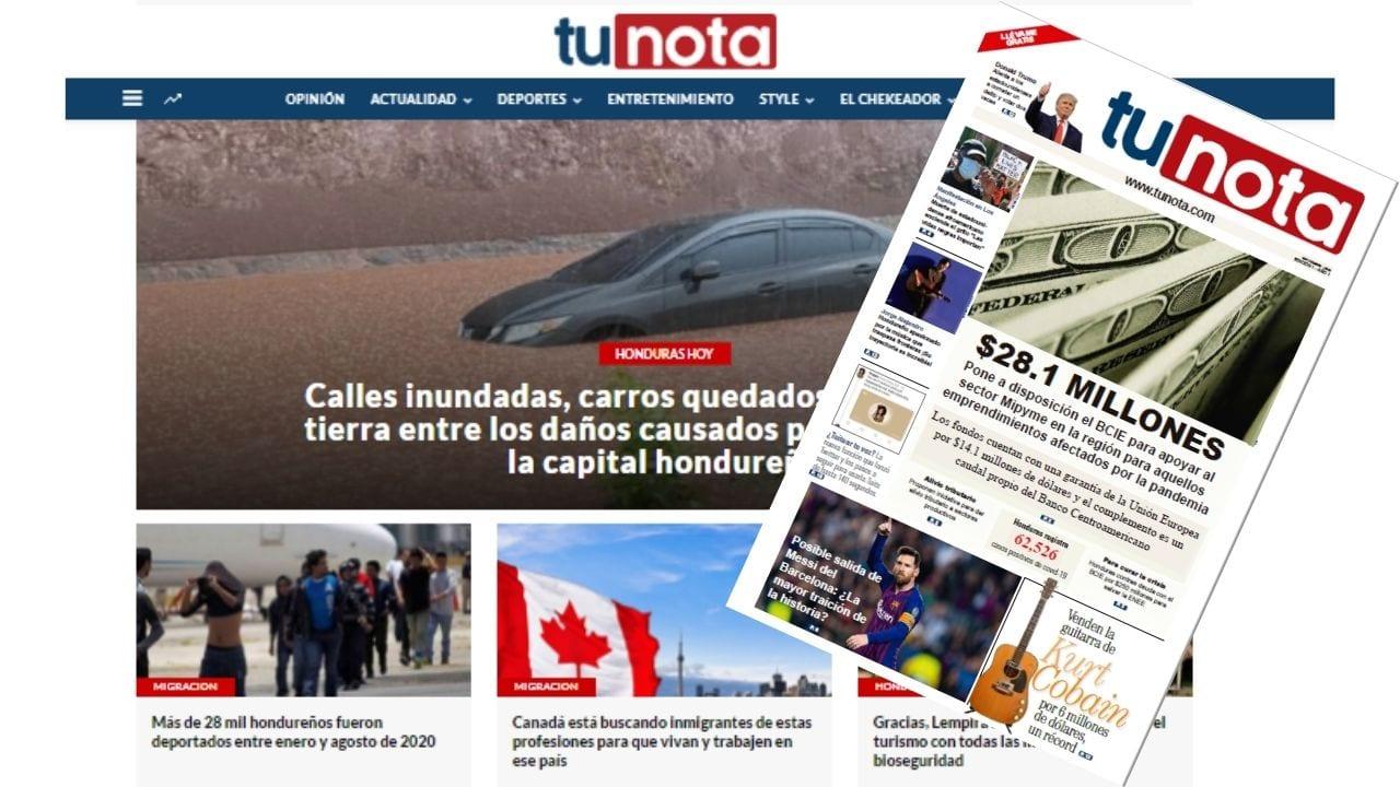 Conquistamos el mercado digital con tunota.com, ahora llegó la hora de informar y entretener con calidad con nuestro PDF y periódico gratuito