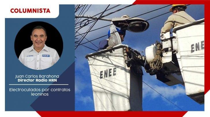 Electrocutados por contratos leoninos
